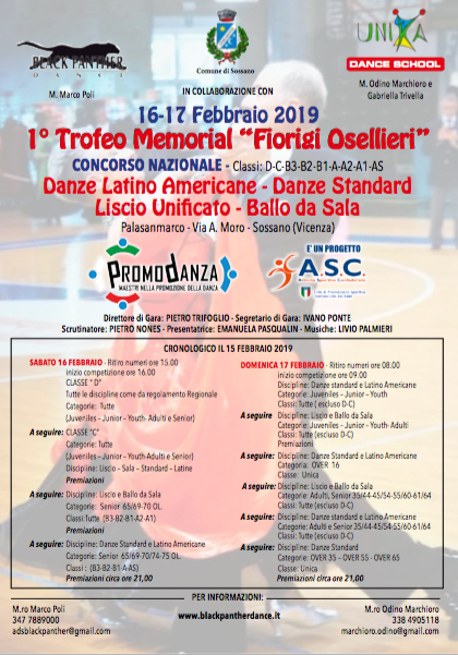 Fids Calendario.Archivio 2019 Risultati Trofeo Memorial Fiorigi Osellieri